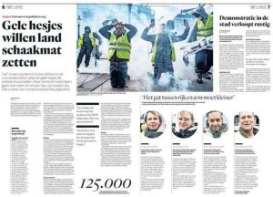 clashes yellow jackets parijs parool